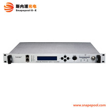 CATV Headend Equipment External Modulation 1550 nm Optical Transmitter with Dual Output