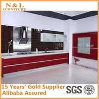 Modular kitchen cabinet 2014 best selling Chinese supplier kitchen cabinets for construction kitchen material