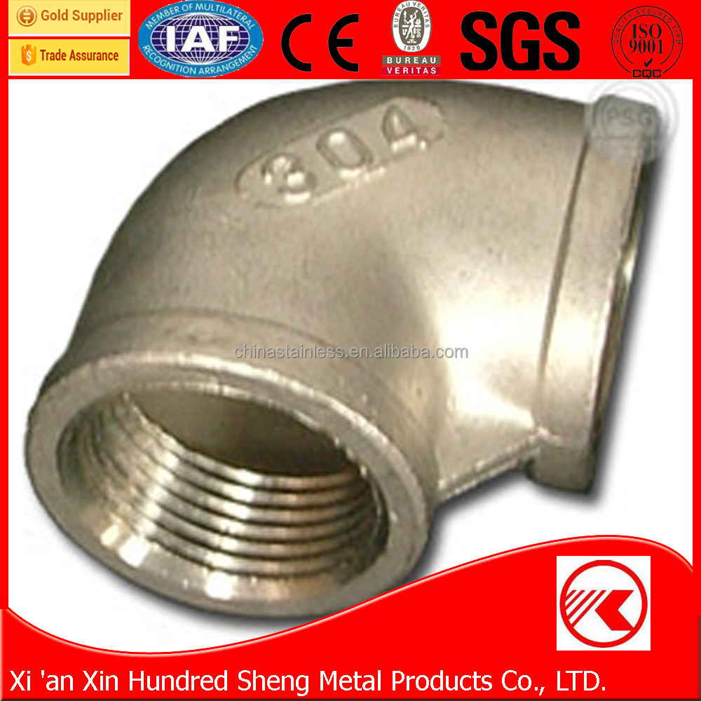 New Arrival Stainless Steel Pipe Fitting 5d 90 Degree Elbow Dimensions