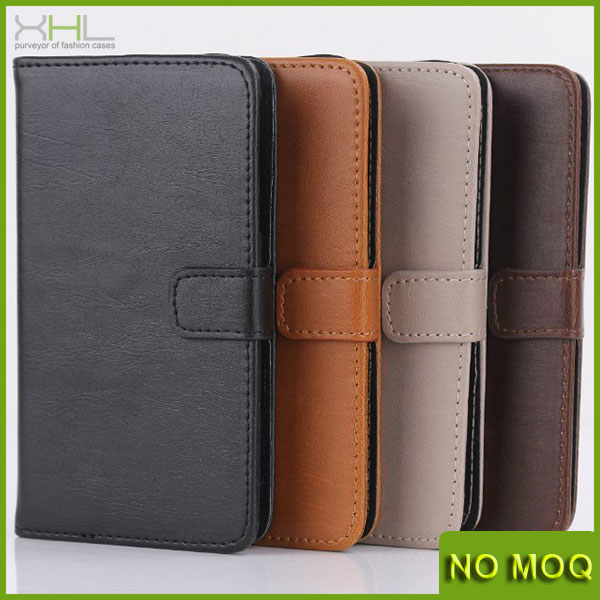 Hot selling wallet leather case for samsung galaxy beam 2 g3858