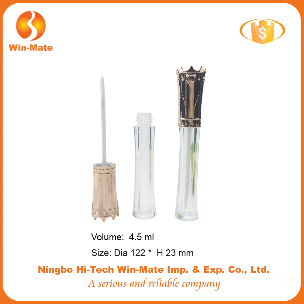 special clear wholesale 122*23mm empty lip gloss container