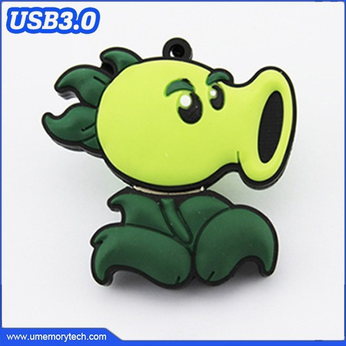 Plants vs zombies shape pen drives wholesale usb drive 3.0 usb flash memory