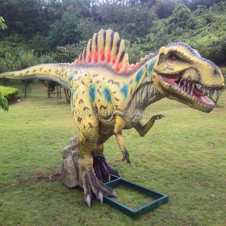 Promotional realistic animatronic dinosaur for Theme Park