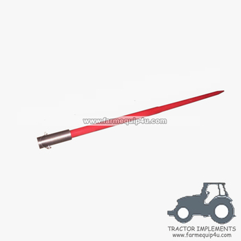 HSP4842 48in hay spear with rod dia.42mm with sleeve and pin