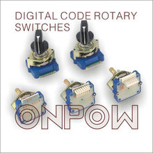 ONPOW digital rotary switch(DCRS series,12 and 24 position)