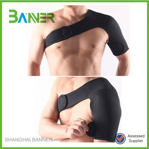 3mm Neoprene Gym suport shoulder back support wrap