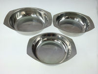 Stainless Steel Pet Dog/Cat Bowl Feeder