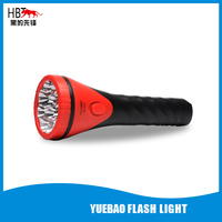 12 LED rechargeable torch and rechargeable flashlight