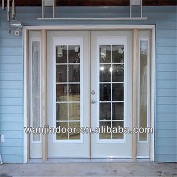 Foshan upvc white color frosted glass interior french doors buy frosted glass interior french for White upvc french doors exterior