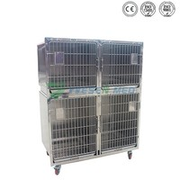 Direct Factory Stainless Steel Unique Rabbit Zoo Animal Cages