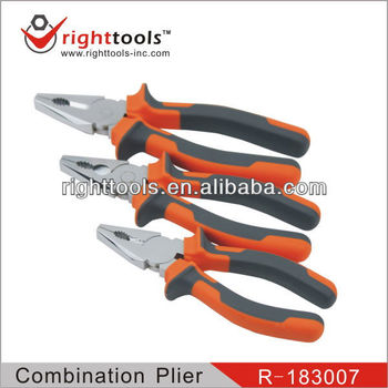 Germany Type Combination pliers with double color handle