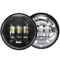 "Factory wholesale 4.5"" 30W motorcycle fog light  4.5inch fog light for harley"