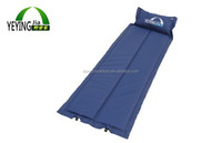 Promotion Nylon Folded Folding Beach Mat With Pillow