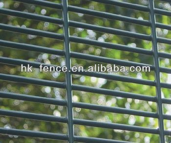 galvanized high security fencing/358 mesh