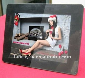 "Fashionable 8"" electronic digital photo frame for promotion"
