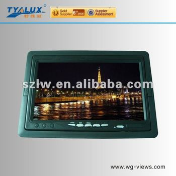 Seven inch Automatic switching of visual function LCD Car Monitor