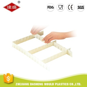 High quality separator divider plastic drawer organizer