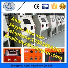 Factory direct supply portable sand blasting cabinets/ Surgical equipments cleaning machine price