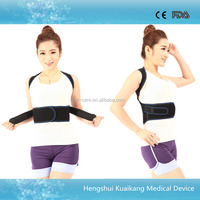 Upper back support belt lumbar back brace for adolescent customary humpback