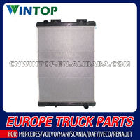 Aluminum Engine Radiator for MAN OE: 8106101-6423 / 8106101-6438