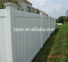 Lifetime Warranty Premium Durable Used Vinyl Fence for Sale Privacy Pvc Fence
