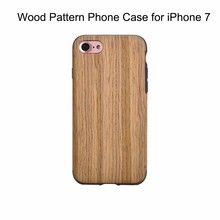 for iphone 8 Mobile Phone Accessories Plastic Case Fashionable Style Wood Skin Phone Case for iPhone 7 7 8 plus