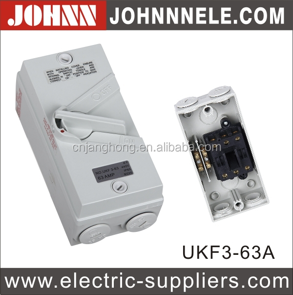 UKF New Type CE Plastic Electronic Enclosures