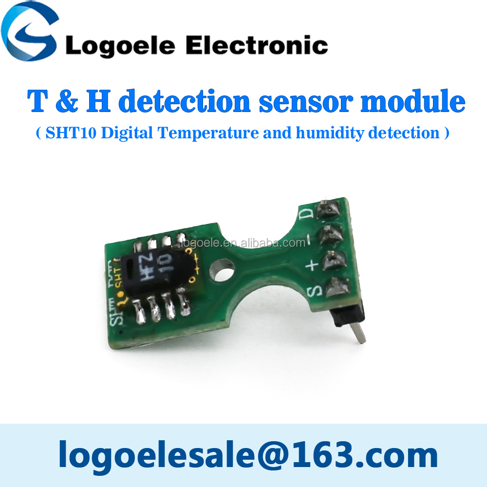Electronic sht10 digital temperature and humidity sensor module High sensitivity IIC