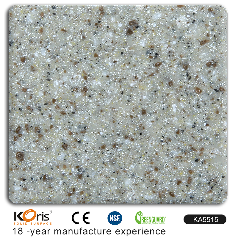 KA5515 modified acrylic solid surface slabs competitive artificial stone price