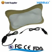 Sunmas Travelling wholesale portable car massager pillow