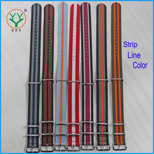 18mm 20mm 22mm 24mm Top Quality James Bond Color NATO Watch Strap