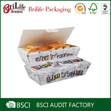 Wholesale High quality handmade fast food box