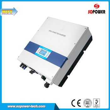Solar PV System MPPT Charge Controller Inverter 6000W without Battery