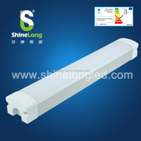 Parking Lot using 4FT 120cm IP65 40W 50W LED Tri-Proof tube light fixture for replacing 2x58w CFLs