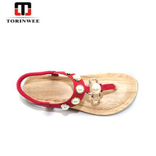 New Arrivals Bohemian Flat Ladies Fancy Women Sandal