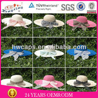 Cheap Fashioned Floppy Ladies Straw Hats Wholesale