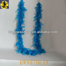 Fashion Long Blue Ostrich Feather Boa Party Supply