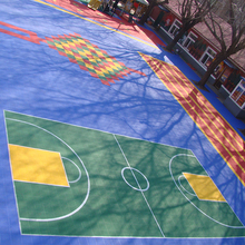 High quality cheap price indoor court futsal floor tile