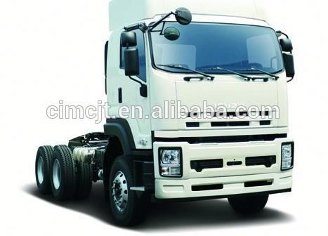 flat roof cab man tractor truck export to Africa