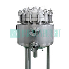 Stainless steel high pressure container