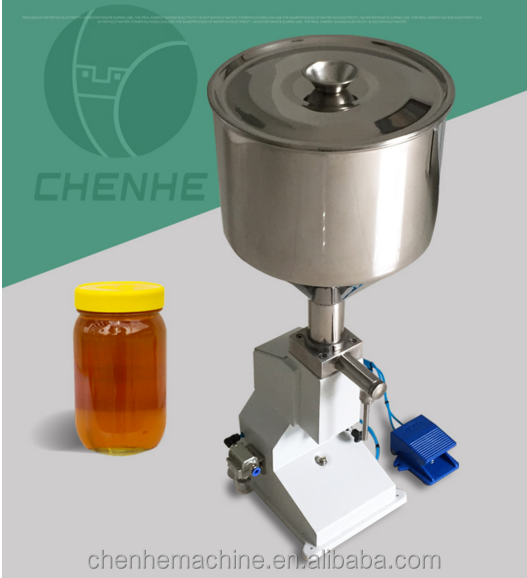 <strong>A02</strong> Pneumatic Filling Machine Small Bottle Filling Machine