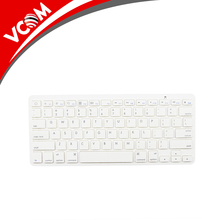 Aluminum Laptop Keyboard Wireless Mini Keyboard for Smartphones and Tablets
