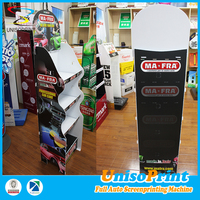 Cheap price raw pp material countertop coroplast plastic merchandising displays