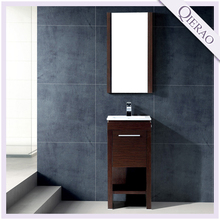 16'' Commercial Mordern Thin Espresso Bathroom Vanity