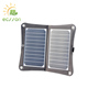 Portable multi function foldable solar panel lamps for outdoor use