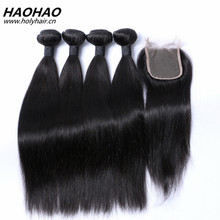 Full Cuticle wholesale grade 7a peruvian human hair,100% thick bottom straight virgin peruvian hair