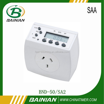 Weekly Digital Timer switches