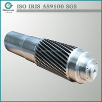 OEM Steel Precision Gear Shaft,machinery parts,customized shafts