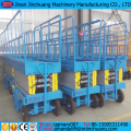 hydraulic motor mobile scissor lifting machine