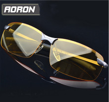New Driving mirror night and day dimming night vision glasses polarized sunglasses For male